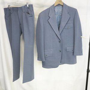 VTG Gross Original Western Men's Suit Western